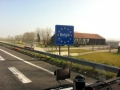 Entering Belgium from France